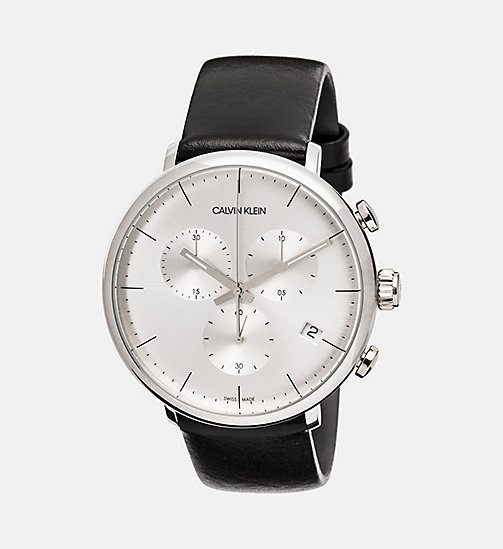 CALVINKLEIN Watch - Calvin Klein High Noon - SILVER - CALVIN KLEIN MEN - main image