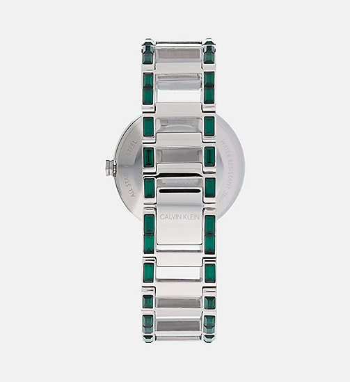 CALVINKLEIN Watch - Calvin Klein Cheers - SILVER & GREEN - CALVIN KLEIN WATCHES - detail image 1