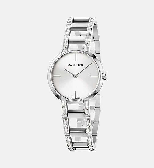 CALVINKLEIN Watch - Calvin Klein Cheers - SILVER -  WATCHES - main image