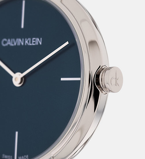 CALVINKLEIN Watch - Calvin Klein Cheers - SILVER / BLUE - CALVIN KLEIN WATCHES - detail image 1