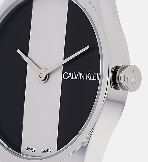 CALVIN KLEIN Watch - Calvin Klein Rebel - BLACK/SILVER - CALVIN KLEIN WOMEN - detail image 1