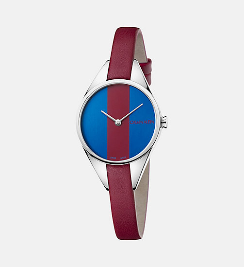 CALVIN KLEIN Watch - Calvin Klein Rebel - BLUE/RED - CALVIN KLEIN WATCHES - main image