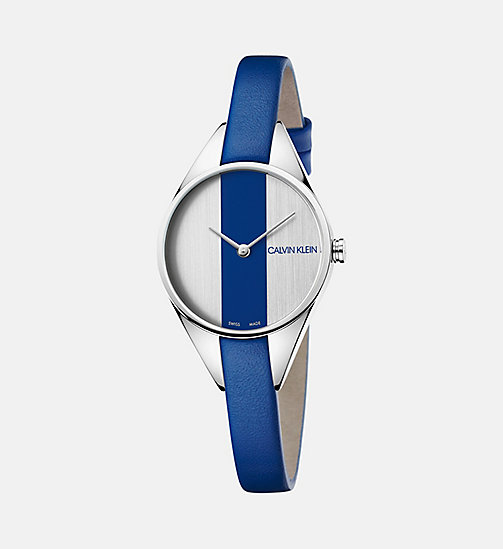 CALVINKLEIN Watch - Calvin Klein Rebel - SILVER/BLUE - CALVIN KLEIN WATCHES - main image