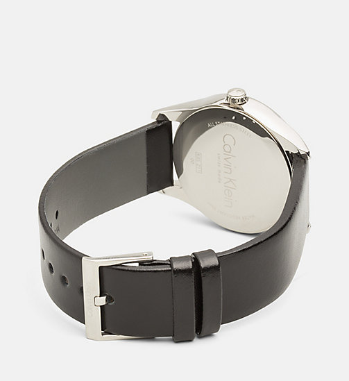 CALVINKLEIN Watch - Calvin Klein Steadfast - SST/BLACK - CALVIN KLEIN WATCHES & JEWELLERY - detail image 1