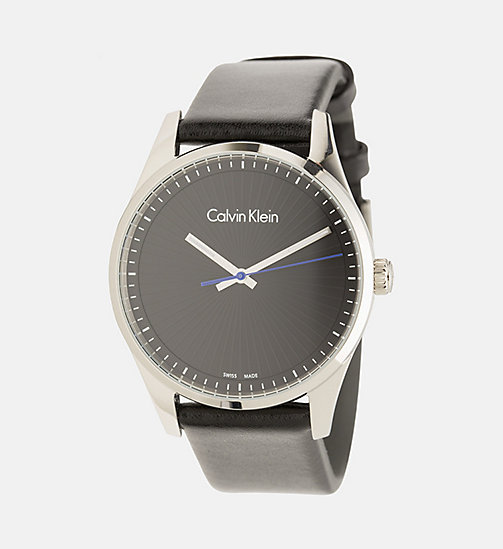 CALVINKLEIN Watch - Calvin Klein Steadfast - SST/BLACK - CALVIN KLEIN WATCHES & JEWELLERY - main image
