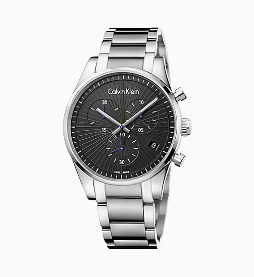 CALVINKLEIN Watch - Calvin Klein Steadfast - SILVER / BLACK - CALVIN KLEIN WATCHES - detail image 1