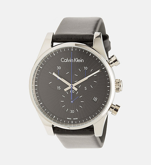 CALVINKLEIN Watch - Calvin Klein Steadfast - SST / BLACK - CALVIN KLEIN WATCHES & JEWELLERY - main image