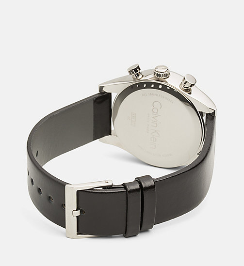 CALVINKLEIN Watch - Calvin Klein Steadfast - SST/SILVER/BLACK - CALVIN KLEIN WATCHES & JEWELLERY - detail image 1
