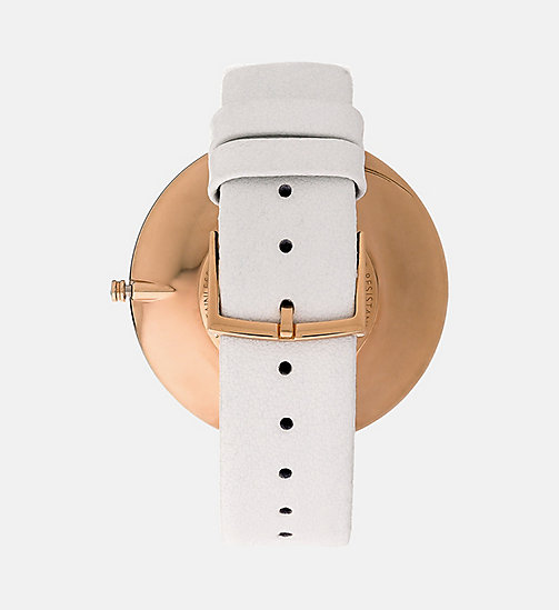 CALVINKLEIN Watch - Calvin Klein Full Moon - WHITE - CALVIN KLEIN WATCHES - detail image 1