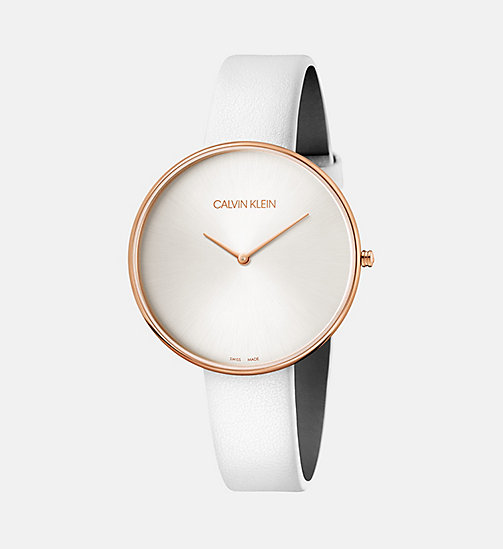 CALVIN KLEIN Watch - Calvin Klein Full Moon - WHITE - CALVIN KLEIN WOMEN - main image