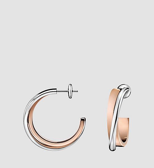 CALVINKLEIN Earrings - Calvin Klein Coil - STAINLESS STEEL - CALVIN KLEIN WATCHES & JEWELLERY - main image