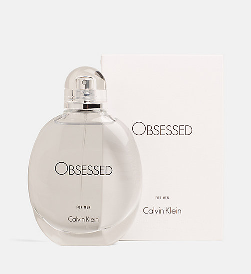 CALVINKLEIN Obsessed for Men - 125ml - Eau de Toilette - WHITE/SEE THRU - CALVIN KLEIN PERFUMES - main image