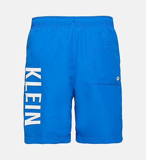 CALVINKLEIN Boys Swim Shorts - Intense Power - 18-4245-ELECTRIC BLUE LEMONADE - CALVIN KLEIN Boys - detail image 1