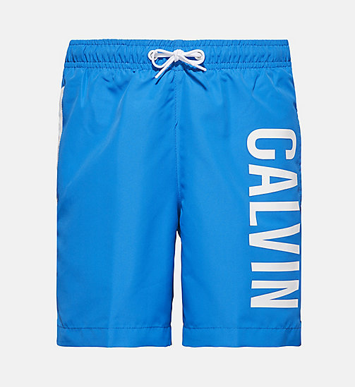 CALVINKLEIN Boys Swim Shorts - Intense Power - 18-4245-ELECTRIC BLUE LEMONADE - CALVIN KLEIN Boys - main image