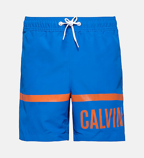 CALVINKLEIN Jungen-Badeshorts - Intense Power - ELECTRIC BLUE LEMONADE - CALVIN KLEIN BADEMODE - main image