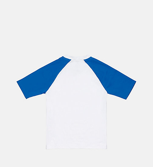 CALVINKLEIN Rash Guard - Intense Power - PVH WHITE - CALVIN KLEIN BOYS - detail image 1