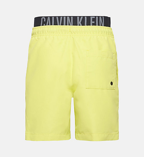 CALVINKLEIN Boys Swim Shorts - Intense Power - SULPHUR SPRING - CALVIN KLEIN SWIMWEAR - detail image 1