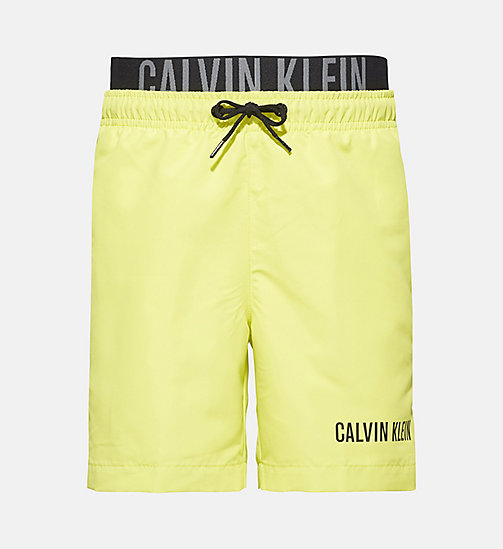 CALVINKLEIN Boys Swim Shorts - Intense Power - SULPHUR SPRING - CALVIN KLEIN Boys - main image
