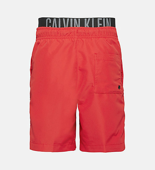 CALVINKLEIN Boys Swim Shorts - Intense Power - SALSA - CALVIN KLEIN SWIMWEAR - detail image 1
