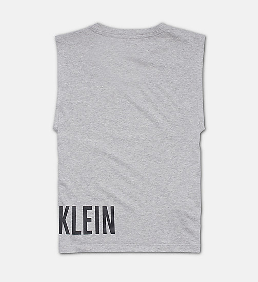 CALVINKLEIN Tank Top - Intense Power - GREY HEATHER - CALVIN KLEIN Boys - detail image 1
