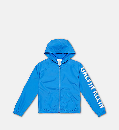 CALVINKLEIN Boys Windbreaker - Intense Power - 18-4245-ELECTRIC BLUE LEMONADE - CALVIN KLEIN SWIMWEAR - main image