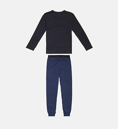 CALVINKLEIN Boys PJ Set - Intense Power - 1BLACK/1BLUESHADOW - CALVIN KLEIN BOYS - detail image 1