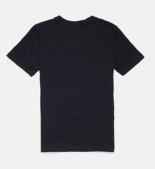 CALVIN KLEIN Logo T-shirt - Intense Power - BLACK - CALVIN KLEIN GIRLS - detail image 1