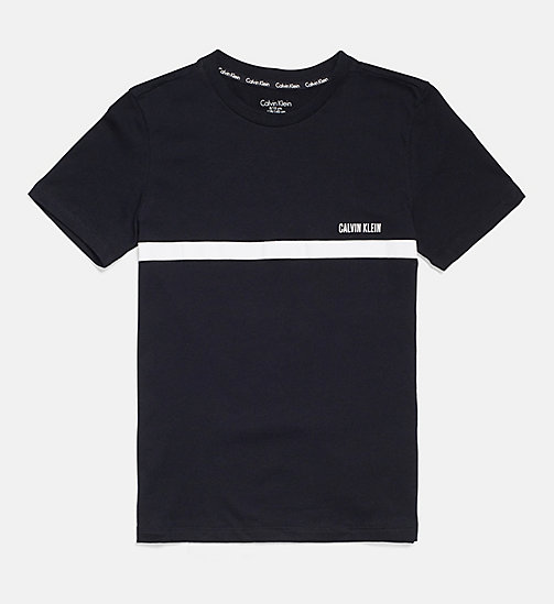 CALVIN KLEIN Logo T-shirt - Intense Power - BLACK - CALVIN KLEIN GIRLS - main image