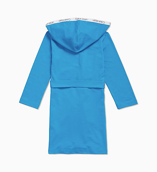 CALVIN KLEIN Boys Bathrobe - Modern Cotton - CLOISONNE? 18-4440 - CALVIN KLEIN BOYS - detail image 1
