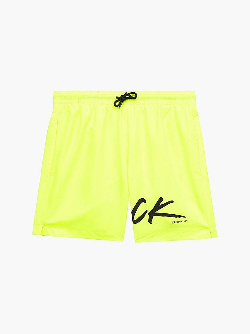 Boys Swim Shorts CK Logo CALVIN KLEIN