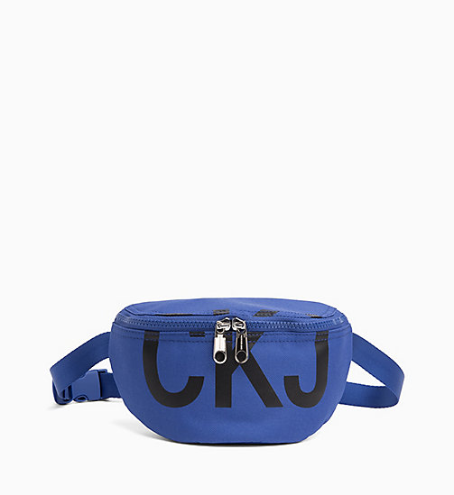 CALVIN KLEIN JEANS Bum Bag - NAUTICAL BLUE - CALVIN KLEIN JEANS BAGS & ACCESSORIES - main image