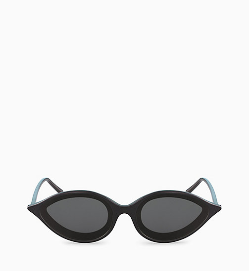 205W39NYC Cat Eye Sunglasses CKNYC1853S - BLACK - 205W39NYC EYEWEAR - detail image 1