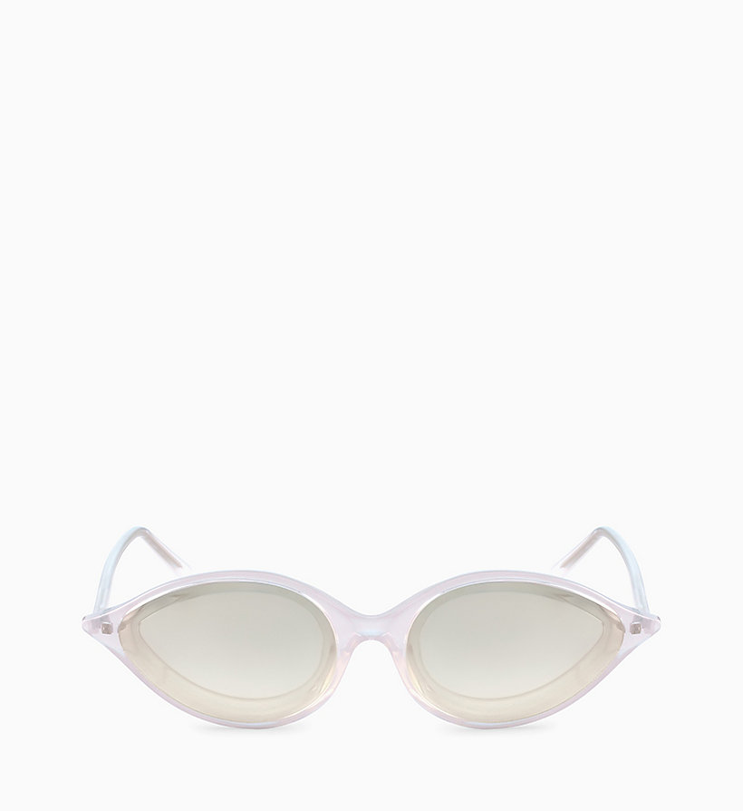 205W39NYC Cat Eye Sunglasses CKNYC1853S - CRYSTAL LIGHT GREEN - 205W39NYC WOMEN - main image