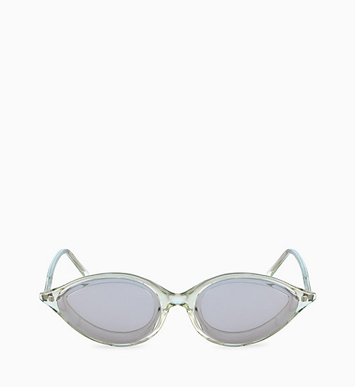 205W39NYC Cat Eye Sunglasses CKNYC1853S - CRYSTAL LIGHT GREEN - 205W39NYC EYEWEAR - main image