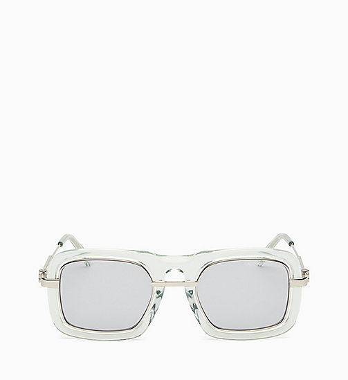 205W39NYC Sonnenbrille Navigator CKNYC1880S - CRYSTAL LIGHT GREEN - 205W39NYC EYEWEAR - main image
