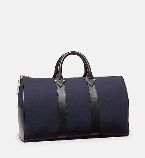 CALVINKLEIN Cotton Canvas Duffle - NAVY - CALVIN KLEIN SHOES & ACCESSORIES - detail image 1