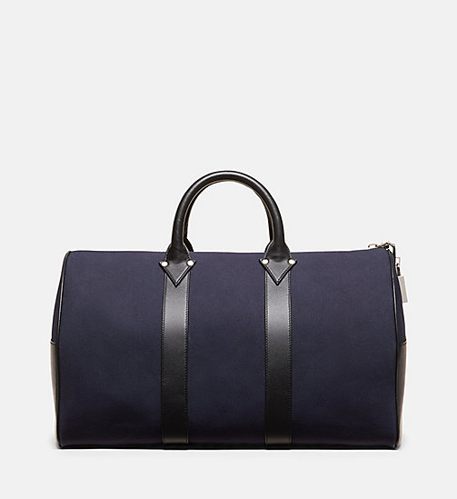 CALVINKLEIN Cotton Canvas Duffle - NAVY - CALVIN KLEIN MEN - main image