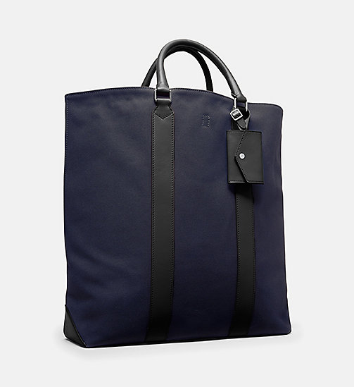 CALVIN KLEIN Canvas Tote - NAVY - CALVIN KLEIN MEN - detail image 1