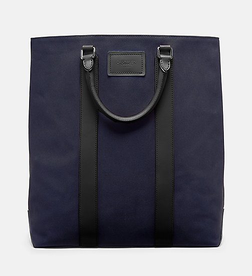 CALVINKLEIN Canvas Tote - NAVY - CALVIN KLEIN SHOES & ACCESSORIES - main image