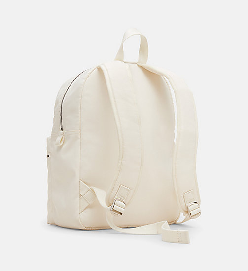 CALVINKLEIN Nylon Backpack - OFF WHITE - CALVIN KLEIN SHOES & ACCESSORIES - detail image 1