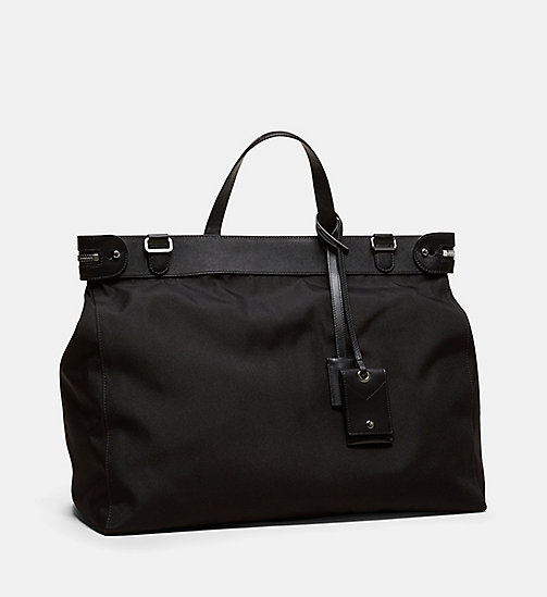CALVINKLEIN Medium Nylon Tote - BLACK - CALVIN KLEIN MEN - detail image 1
