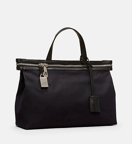 CALVINKLEIN Small Nylon Tote - DARK JADE - CALVIN KLEIN SHOES & ACCESSORIES - detail image 1