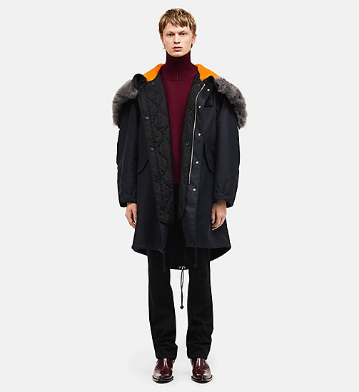 CALVINKLEIN Oversized Quilt-lined Parka - CARBON - CALVIN KLEIN CLOTHES - main image
