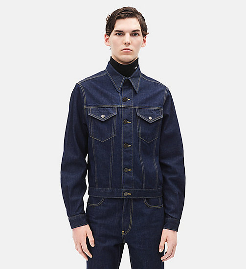 CALVINKLEIN Denim Trucker Jacket - BLUE - CALVIN KLEIN MEN - main image