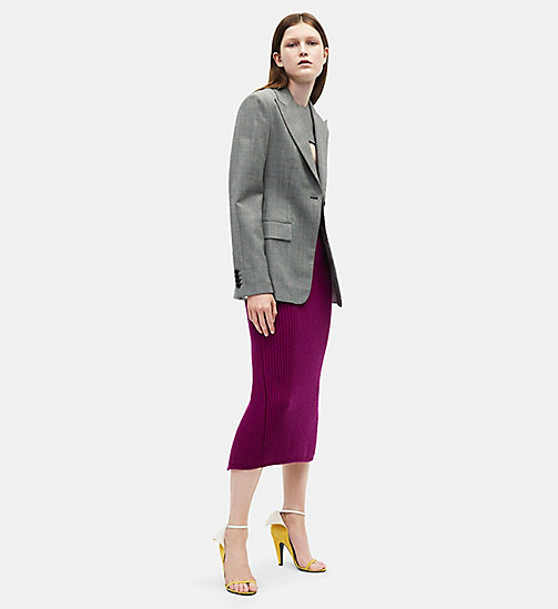CALVINKLEIN Varsity Skirt - ORCHID - CALVIN KLEIN CLOTHES - main image