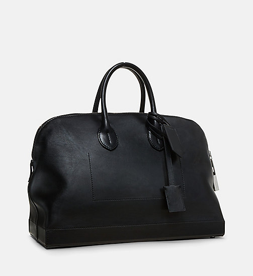 CALVINKLEIN Simple Luxe Leather Tote - BLACK - CALVIN KLEIN SHOES & ACCESORIES - detail image 1