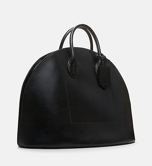 CALVINKLEIN Medium Dome Tote - BLACK - CALVIN KLEIN WOMEN - detail image 1