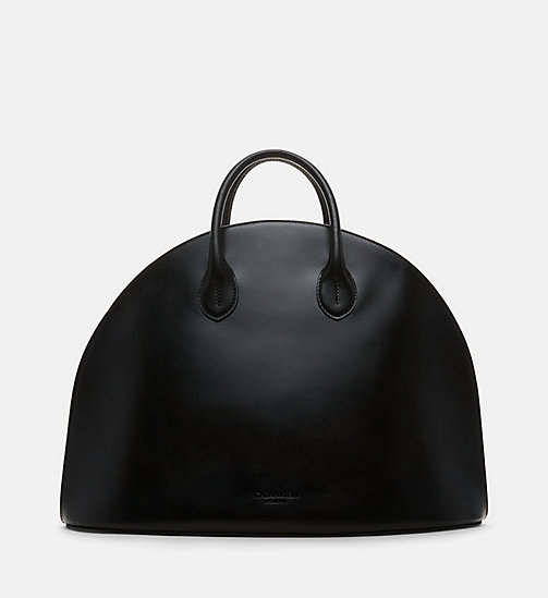 CALVINKLEIN Medium Dome Tote - BLACK - CALVIN KLEIN WOMEN - main image