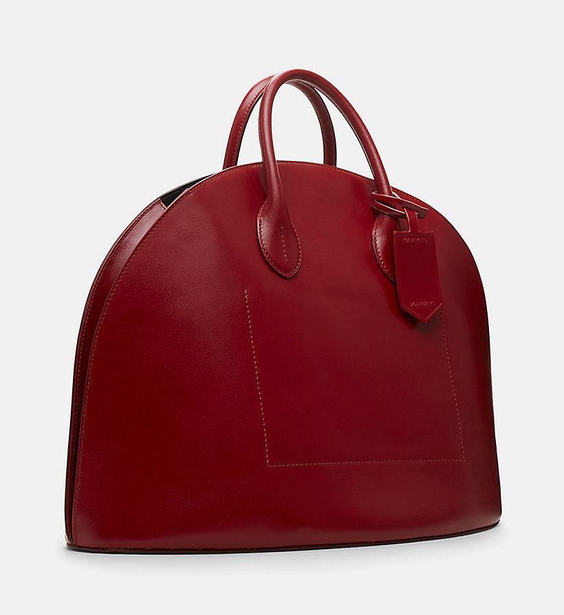 CALVINKLEIN Medium Dome Tote - BLACK - CALVIN KLEIN SHOES & ACCESSORIES - detail image 1