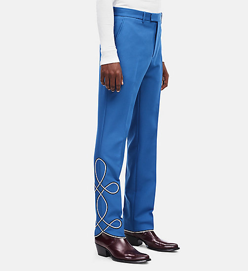CALVINKLEIN Parade Trousers - STEEL BLUE - CALVIN KLEIN CLOTHES - main image
